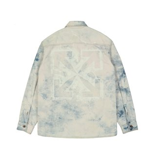 ARROWS OVERSIZE DENIM SHIRT