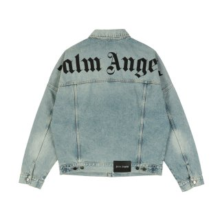 OVER LOGO DENIM CABAN