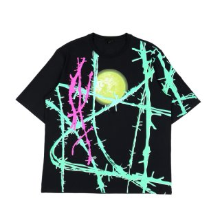WIRE PRINT T-SHIRT
