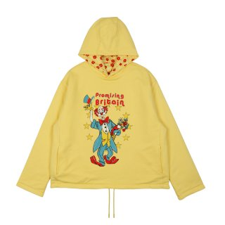 HOODIE REVERSIBLE CLOWN ARTWORK