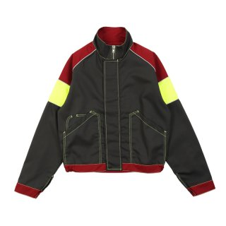 TRI-COLOUR WORK JACKET