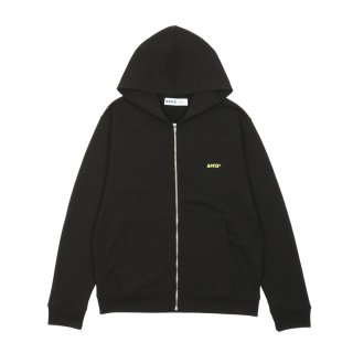 BASIC EMBROIDERED ZIP UP HOODIE