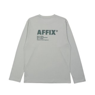 BASIC LONG SLEEVE RADIO T-SHIRT