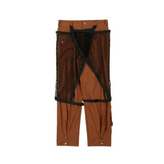 DETACHABLE MESH LAYERED TROUSER