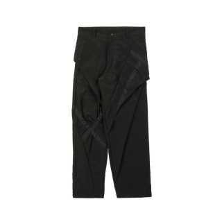 CROSS TAPE TROUSER