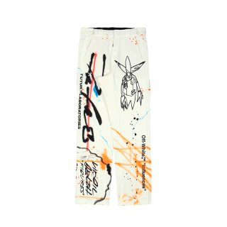 FUTURA RAINBOW CARPENTER PANTS