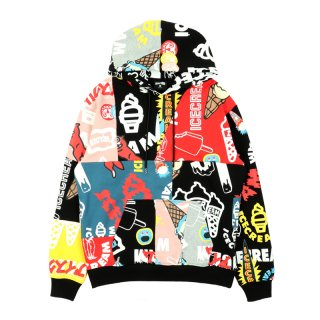 COLLECTION PATCHWORK HOODIE