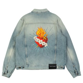 SACRED HEART DENIM JKT