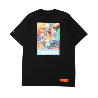 T-SHIRT OVER HERON COLORS