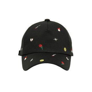 ALL OVER EMBROIDERY CAP