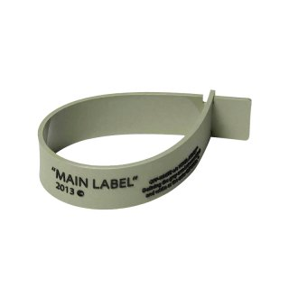 LABEL THIN BRACELET