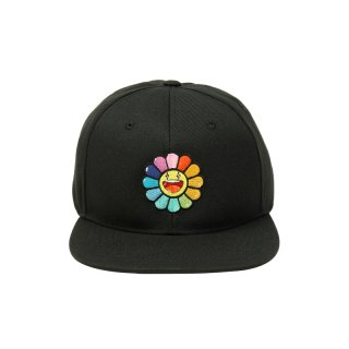 RAINBOW FLOWER HAT