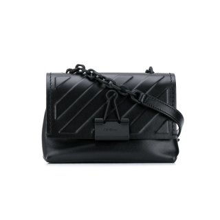 DIAG EMBOSSED SOFT MEDIUM BAG