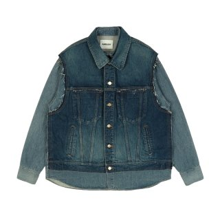 DENIM HYBRID JACKET