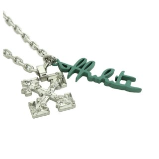 LEAVES ARROW NECKLACE