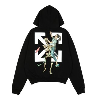 PASCAL SKELETON OVER HOODIE