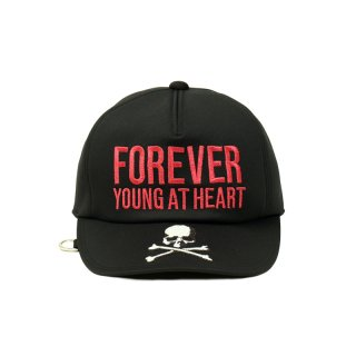 FOREVER YOUNG AT HEART LOGO CAP