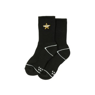 KNITTED STAR EMBROIDERY SOCK