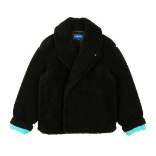 WOVEN BASIC DESIGN PEA COAT