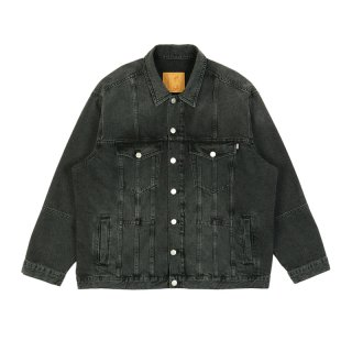 PANELLED DENIM JACKET