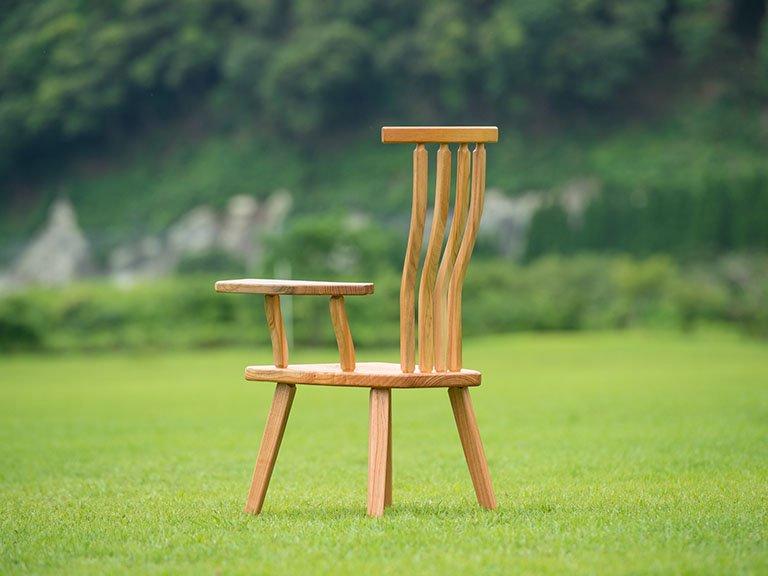 癒しの椅子(片肘)