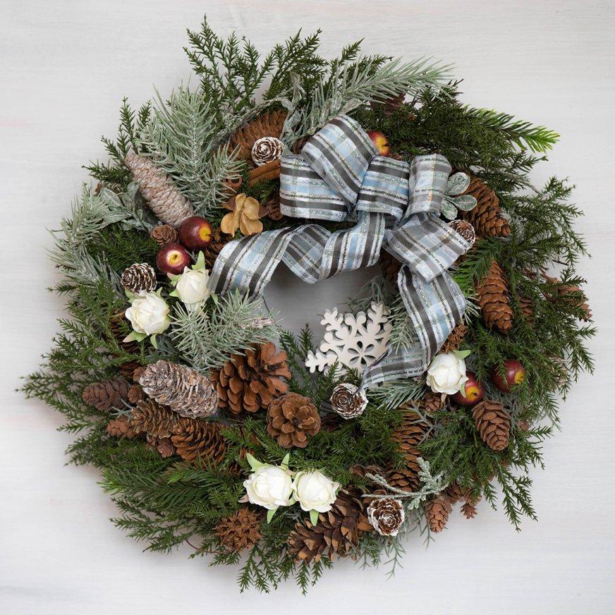 2018 クリスマスリース B