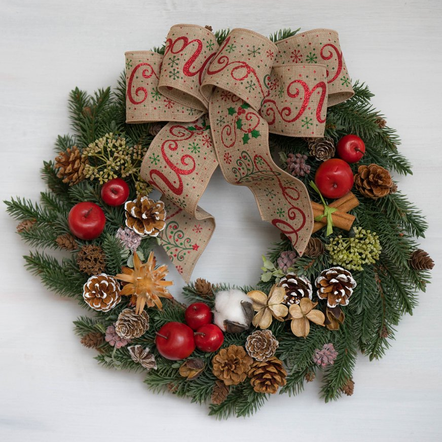 2018 クリスマスリース C