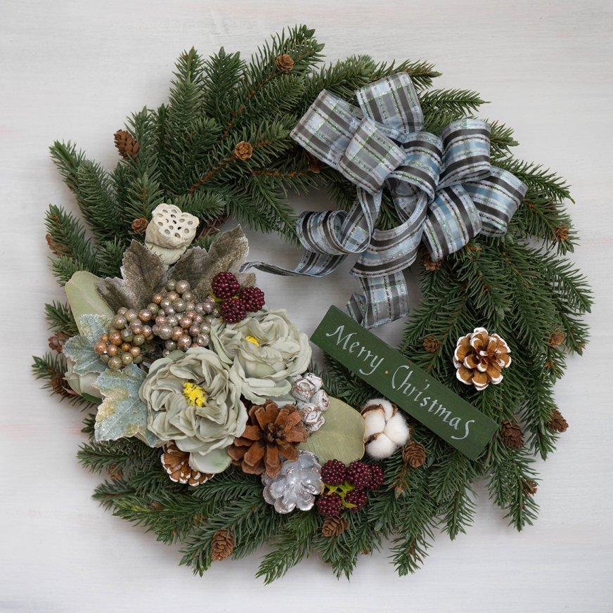 2018 クリスマスリース D