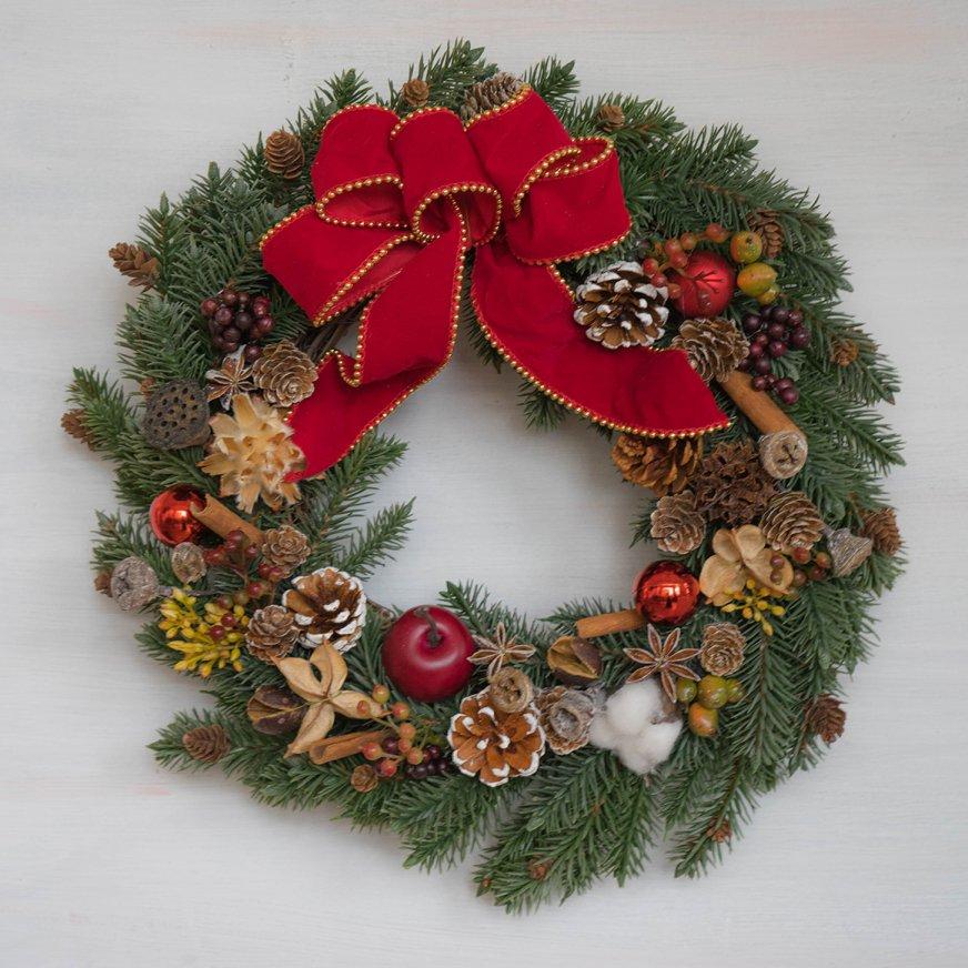 2018 クリスマスリース J