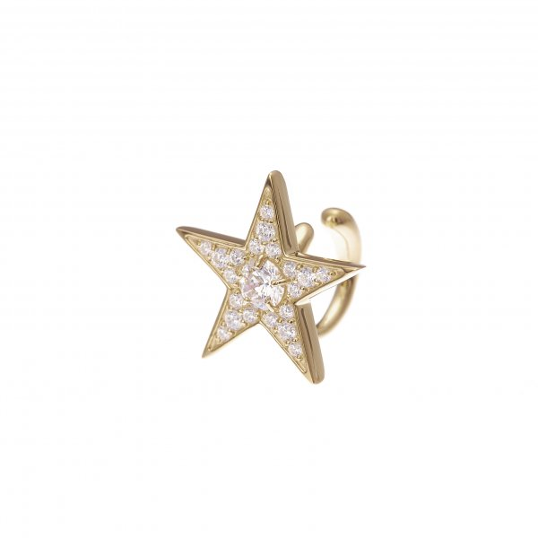 <img class='new_mark_img1' src='//img.shop-pro.jp/img/new/icons8.gif' style='border:none;display:inline;margin:0px;padding:0px;width:auto;' />Star Struck ear cuff<br>(ゴールド)