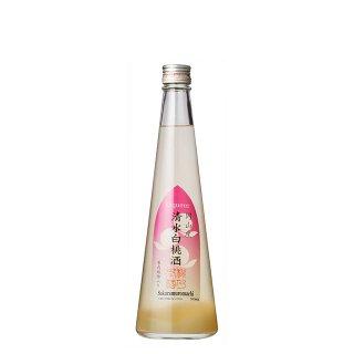 プルミエ 白桃果肉繊維入り 清水白桃酒 500ml