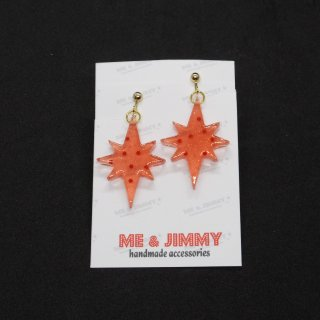 Strawberry Jelly Starburst Earring