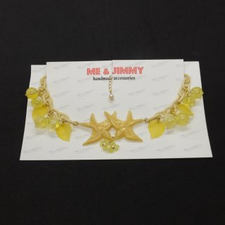 Mellow Yellow Swallow Necklace