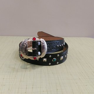 Studded&Jeweled Belt