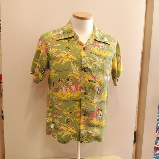 <img class='new_mark_img1' src='//img.shop-pro.jp/img/new/icons6.gif' style='border:none;display:inline;margin:0px;padding:0px;width:auto;' />Hawaiian Shirt [Hawaiian Hula]