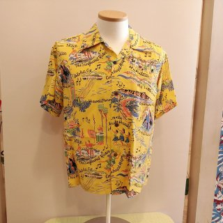 <img class='new_mark_img1' src='//img.shop-pro.jp/img/new/icons41.gif' style='border:none;display:inline;margin:0px;padding:0px;width:auto;' />【30%off】Hawaiian Shirt [The Song Of Hawaii]