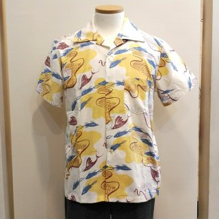 Vintage Style 50'S Box Shirt Short Sleeves
