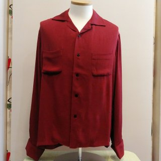 <img class='new_mark_img1' src='//img.shop-pro.jp/img/new/icons6.gif' style='border:none;display:inline;margin:0px;padding:0px;width:auto;' />RAYON FRENCH CUFF SHIRT WINE