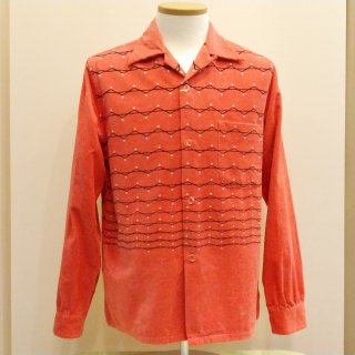 Style Eyes Corduroy Shirt ZigZag Stripes