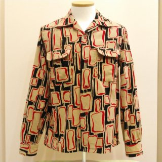 Style Eyes Corduroy Shirt Square Bubbles