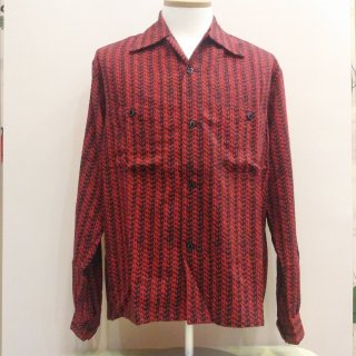 Vintage Style Box Shirt Long Sleeves