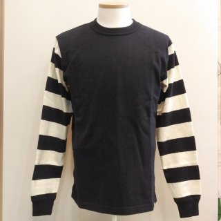 Heavy Border Sleeve L/S T-shirts