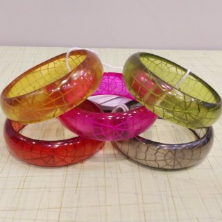 Corday Spider Web Thin Bangle