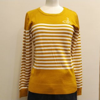 Mischief Stripe Long Sleeve Knit Sweater