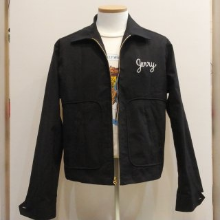 Vintage Style Car Club RI-RODS Jacket Black