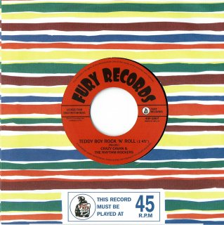 <img class='new_mark_img1' src='//img.shop-pro.jp/img/new/icons6.gif' style='border:none;display:inline;margin:0px;padding:0px;width:auto;' />Crazy Cavan&The Rhythm Rockers/Teddy Boy Boogie 7inch