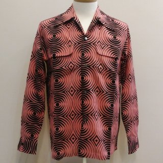 Vintage Atomic Style Box Shirt L/S