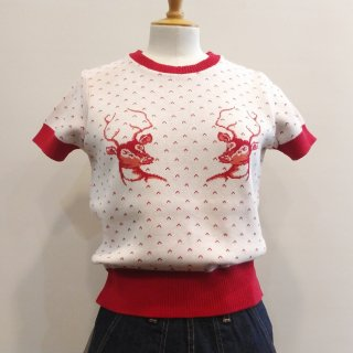 <img class='new_mark_img1' src='//img.shop-pro.jp/img/new/icons41.gif' style='border:none;display:inline;margin:0px;padding:0px;width:auto;' />【20%off】Summer Knit Deer