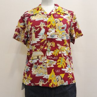 <img class='new_mark_img1' src='//img.shop-pro.jp/img/new/icons41.gif' style='border:none;display:inline;margin:0px;padding:0px;width:auto;' />【30%off】Hawaiian Shirt [LUAU]