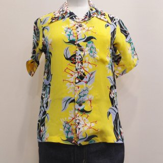 <img class='new_mark_img1' src='//img.shop-pro.jp/img/new/icons41.gif' style='border:none;display:inline;margin:0px;padding:0px;width:auto;' />【30%off】Hawaiian Shirt [KAHILI GINGER]